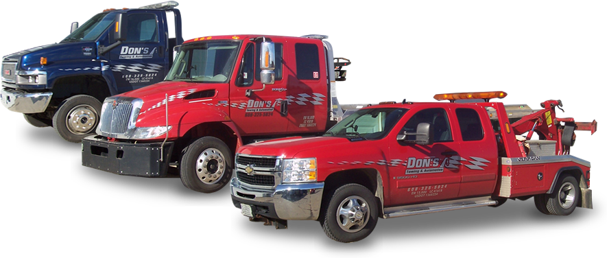 Don's Towing & Automotive - Our Trucks